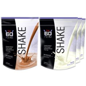 Picture of Shape Pack 4 (1 Chocolate, 3 Vanilla SHAKEs)